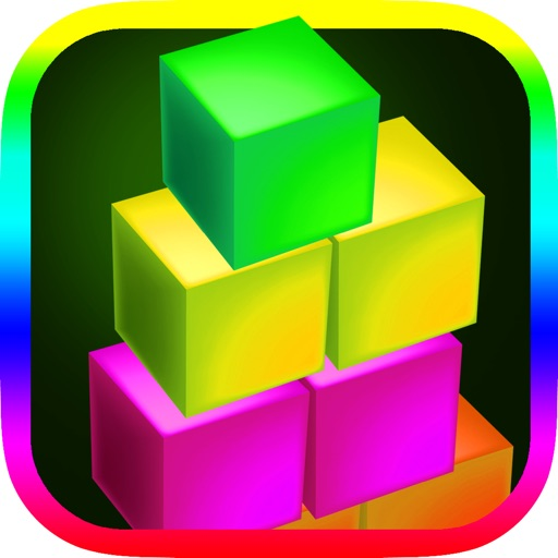 A Neon Stacked Boxes Of State Bright - In Glowing Cubed Light Glory Game Free