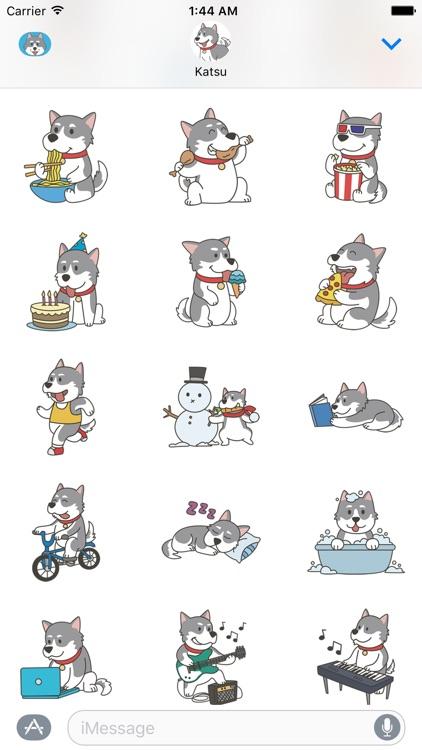 HuskyMoji - Siberian Husky Emoji