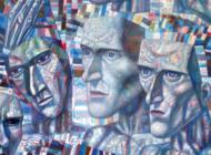 Pavel Filonov Artworks Stickers