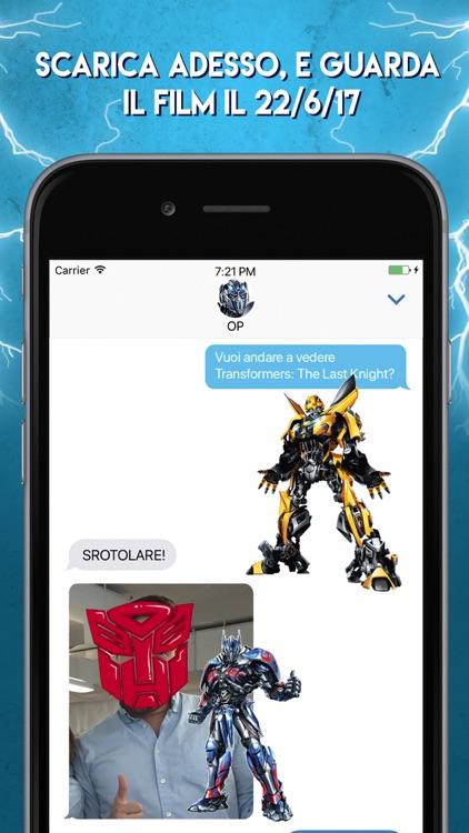 Stickers di Transformers - L'Ultimo Cavaliere