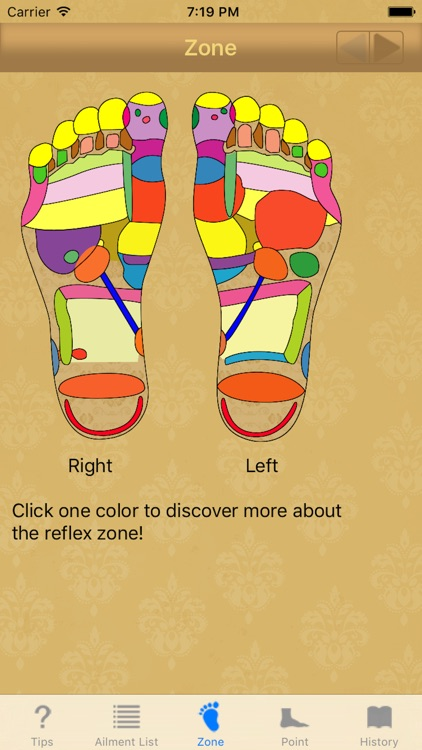 Foot reflexology: home remedy for chronic diseases screenshot-3