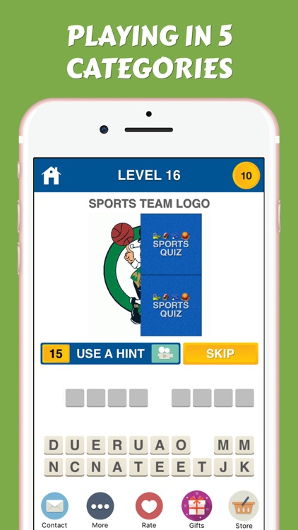 Sports Logos Quiz - American Collegiate Team Icons screenshot-3