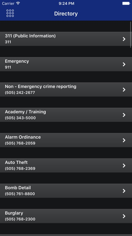 ABQPolice Mobile screenshot-3