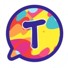 Color Text Messages- customizer colorful texting icon