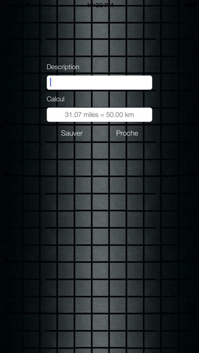 Screenshot #3 pour Miles Km