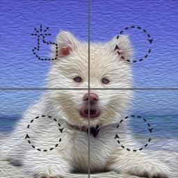Tiles: unique catchy revolve riddle