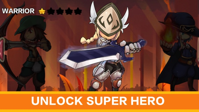 Adventure Run RPG: battle war games 2d