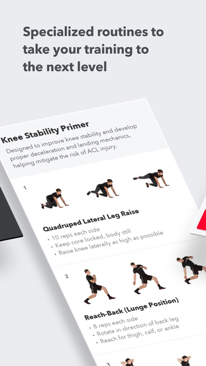 Volt: Strength Training Workouts for Your Sport app image