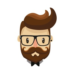 Hipster Sticker Pack for iMessage