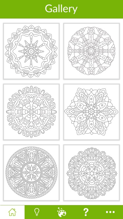 Mandala Coloring - For Adults screenshot-4