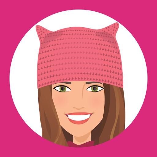 T'elle-Kate: Women's March Stickers