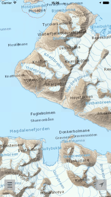 Here and there+ Svalbard (with offline maps) screenshot-3