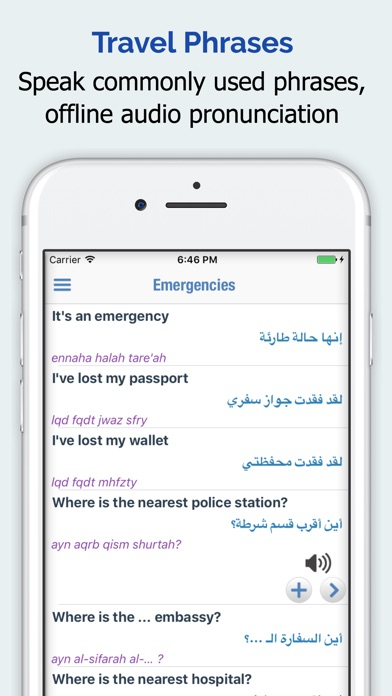 Screenshot for Arabic Dictionary Elite in United States App Store