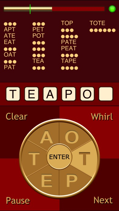 Whirly Word review screenshots