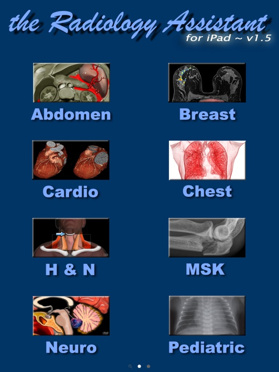 Radiology Assistant for iPad - Imaging Reference screenshot-4