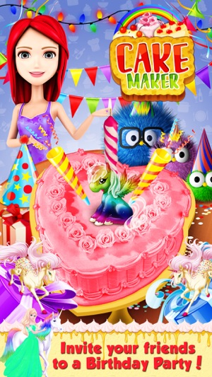 Birthday Cake Maker Make And Bake Delicious Cakes 4