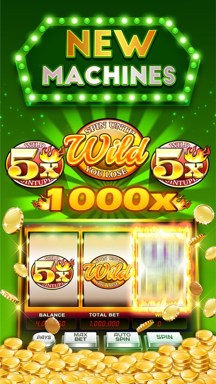 Slots & Casino: DoubleHit Vegas Slot Machines screenshot-1
