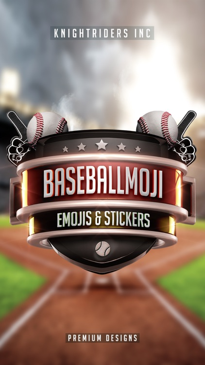 BaseballMoji - baseball emojis & stickers keyboard