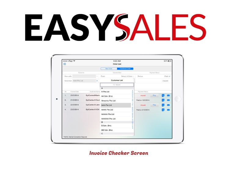 EasySales Mobile Sales Ordering screenshot-4