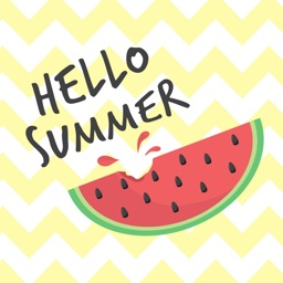 Animated Summer Wishes & Stickers For iMessage