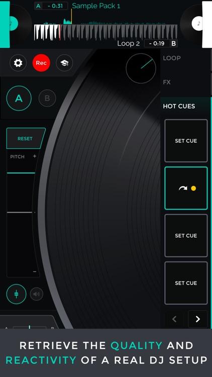 Mixfader dj app
