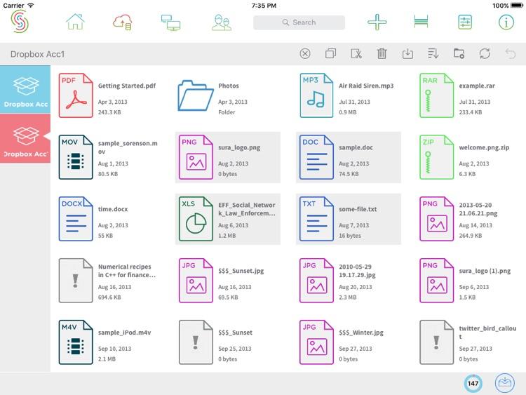 Sharin - Access Transfer View Cloud & WiFi Files