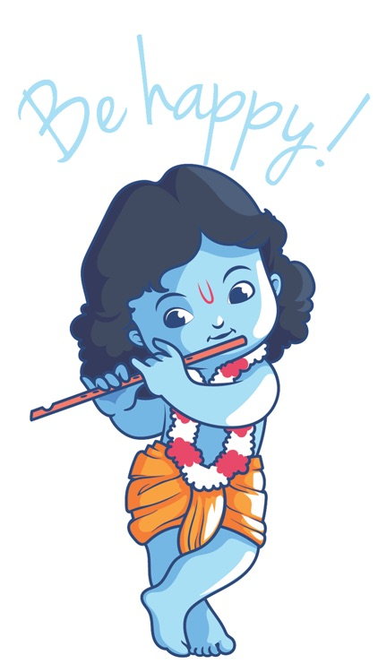 Krishna Stickers