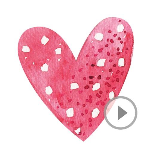 Animated Romantic Love Stickers