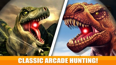 3D Dinosaur Hunting Park Animal Simulator Games Screenshot on iOS