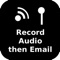 Record Audio then Email by Simon Wilson
