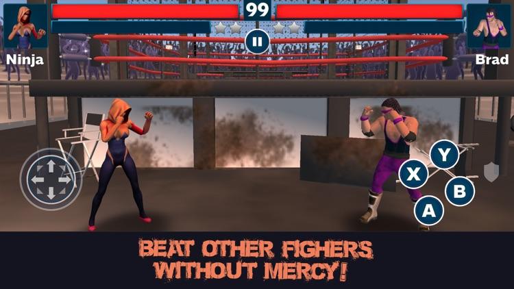 Heavyweight Wrestling Fighting Cup screenshot-3