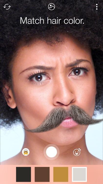 Stacheify - Mustache face app screenshot-3