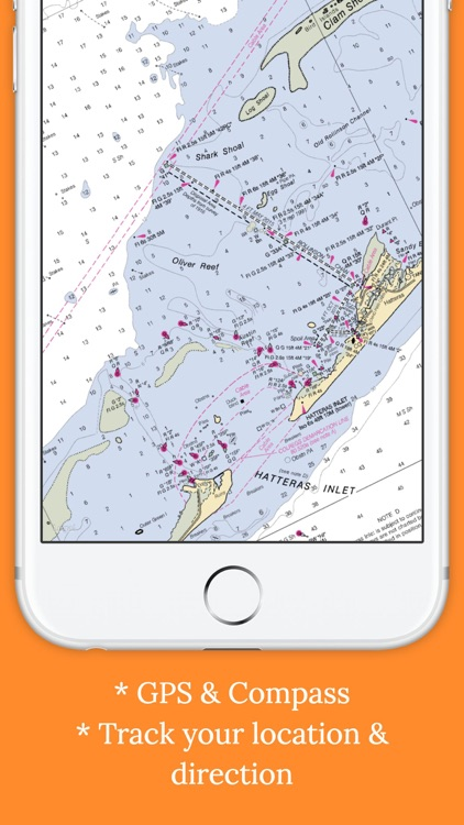 Marine : Carolinas offline GPS nautical charts screenshot-3