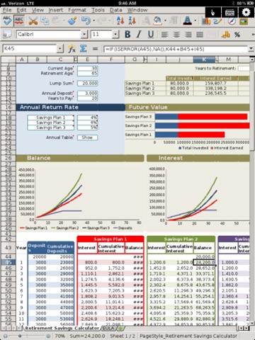 無制限の文書オフィス for iPad - 編集Office Word,Excel Docsのおすすめ画像2