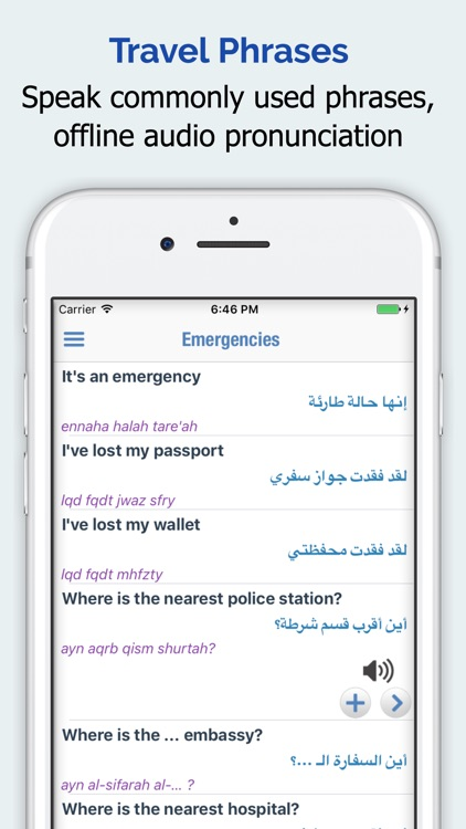 Arabic Dictionary - English Arabic Translator screenshot-3
