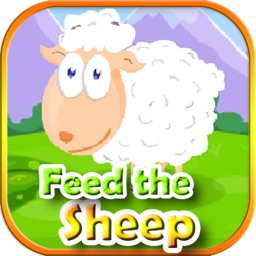 Feed the sheep games for kids - Match3 bean