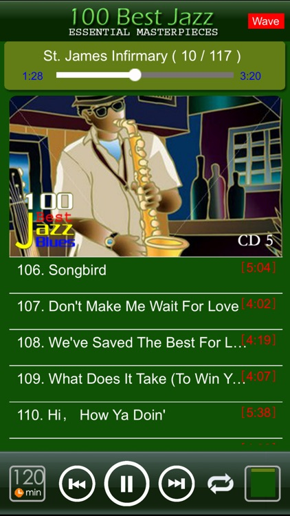 jazz blues music classic 100 screenshot-4