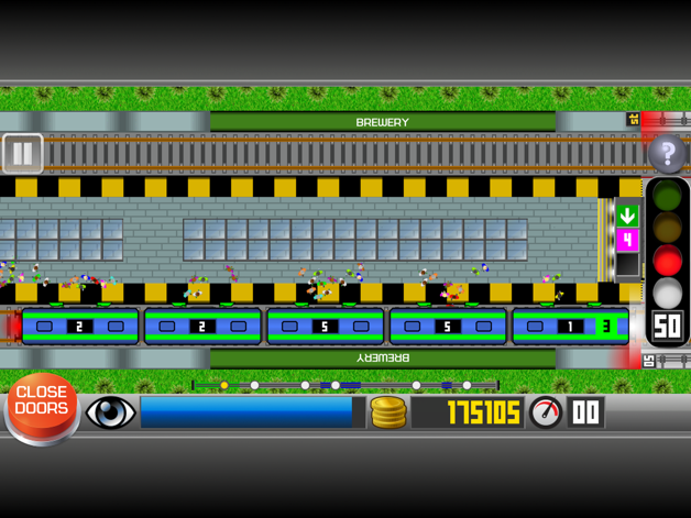 Subway Train Simulator 2D Transforms People into Subway Train Operators Image