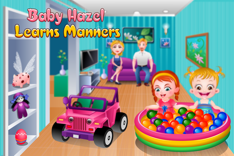 Baby Hazel Learns Manners - náhled