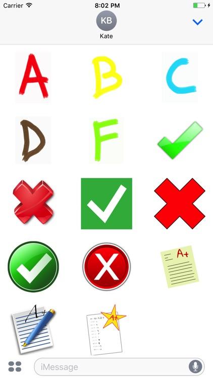 Grades Stickers