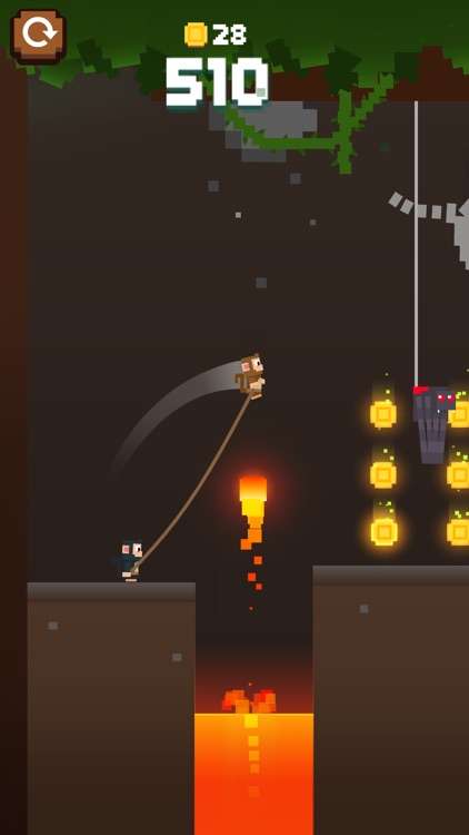 Monkey Ropes screenshot-3