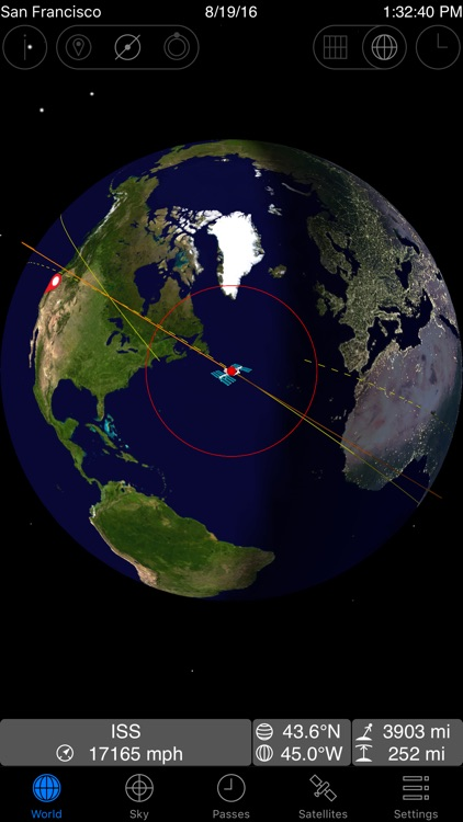 GoISSWatch ISS Tracking screenshot-0
