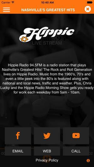 Hippie Radio 94 5 Nashville on the App Store