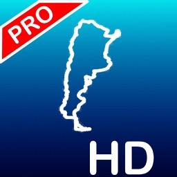 Aqua Map Argentina HD Pro - GPS Nautical Charts