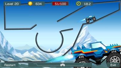 Screenshot #3 pour Monster Stunts