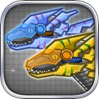 Steel Dino Toy:Mechanic Raptors - 2 player game icon