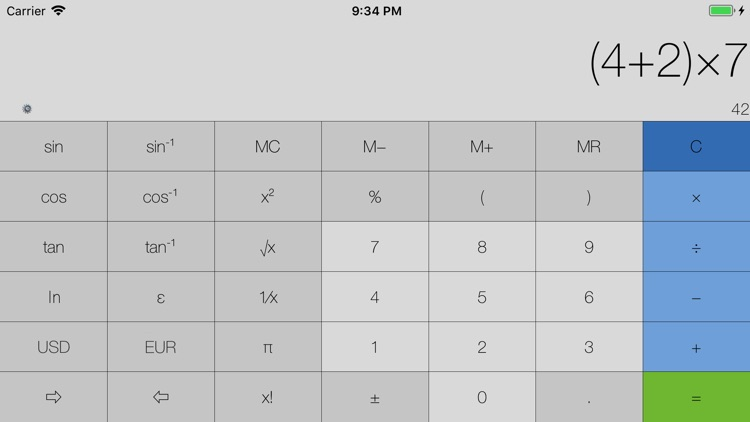 My Calculator (incl. currency) screenshot-3