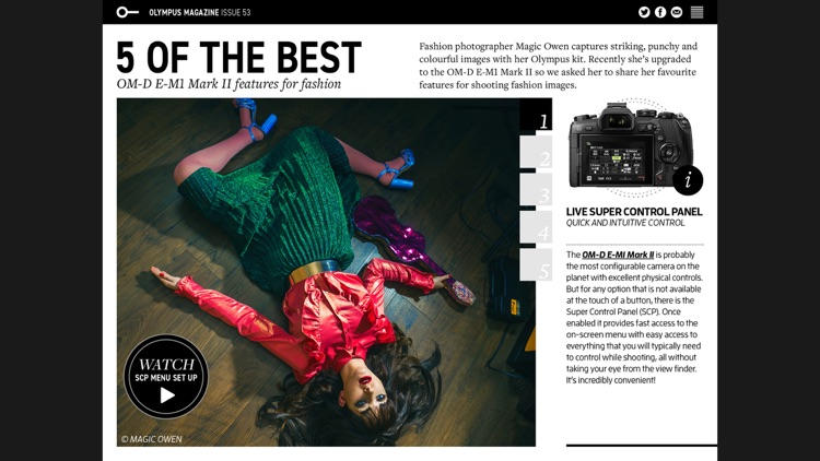 Olympus Magazine screenshot-2