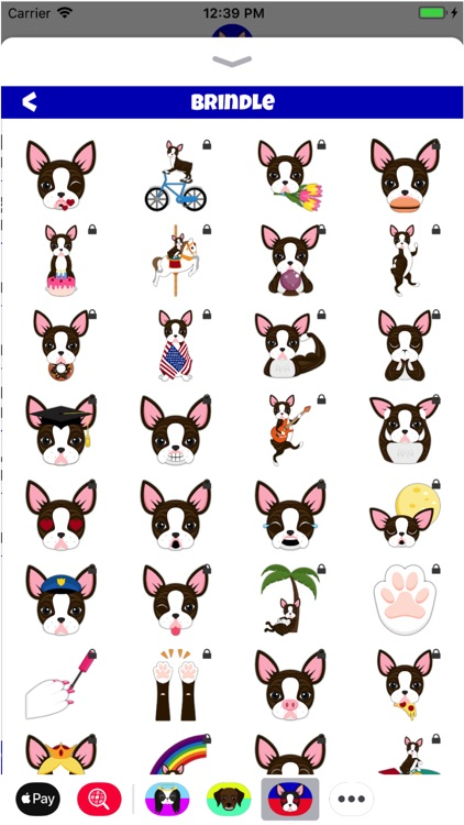 Boston Terrier Lover Emoji screenshot-4