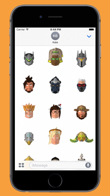 Heroes of the Future Stickers screenshot-3